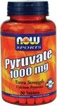 Pyruvate 1000 mg (90 tabs) NOW Foods