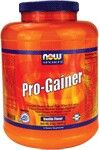 Pro-Gainer Vanilla (8 lbs) NOW Foods
