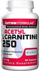 Acetyl-L-Carnitine (250 mg 60 capsules) Jarrow Formulas