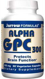 Alpha GPC (300 mg 60 capsules) Jarrow Formulas