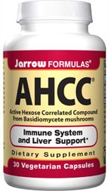 AHCC, Active Hexose Correlated Compound (500 mg 30 capsules) Jarrow Formulas