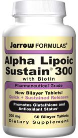 Alpha Lipoic Sustain (300 mg 60 tablets) Jarrow Formulas