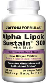 Alpha Lipoic Sustain (300 mg 30 tablets)* Jarrow Formulas