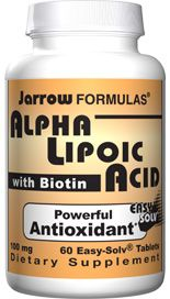 Alpha Lipoic  (100 mg 60 tablets) Jarrow Formulas