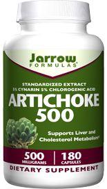 Artichoke (500 mg 180 capsules) Jarrow Formulas