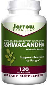 Ashwagandha (225 mg 120 capsules) Jarrow Formulas