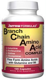 BCAAs w/ Glutamine (600 mg 120 capsules) Jarrow Formulas