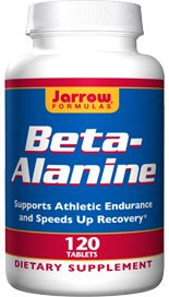 Beta-Alanine (1000 mg 120 tablets) Jarrow Formulas