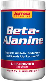 Beta-Alanine Powder (1000 mg 500 grams) Jarrow Formulas
