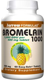 Bromelain 1000 (500 mg 60 tablets) Jarrow Formulas