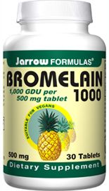 Bromelain 1000 (500 mg 30 tablets) Jarrow Formulas