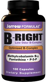 B-Right Complex (100 capsules) Jarrow Formulas