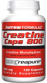 Creatine (800 mg 120 capsules) Jarrow Formulas