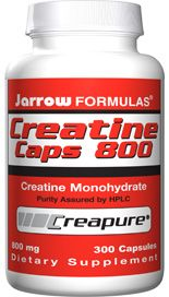 Creatine (800 mg 300 capsules) Jarrow Formulas