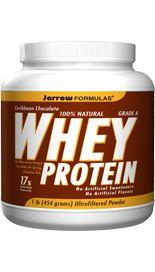 Whey Protein Chocolate (1 lb) Jarrow Formulas