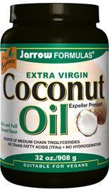 Coconut Oil Extra Virgin (32 oz) Jarrow Formulas