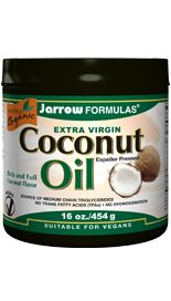 Coconut Oil Extra Virgin (16 oz) Jarrow Formulas