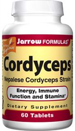Cordyceps (500 mg 60 tablets) Jarrow Formulas