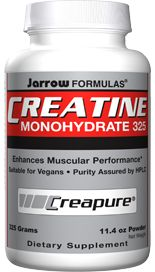 Creatine Monohydrate (6 grams/scoop 325 grams) Jarrow Formulas