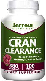 Cran Clearance (680 mg 100 capsules) Jarrow Formulas