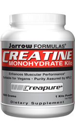 Creatine Monohydrate (6 grams/scoop 1000 grams) Jarrow Formulas