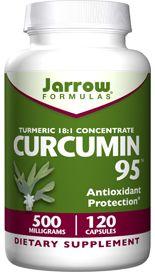 Curcumin 95 (500 mg 120 capsules) Jarrow Formulas