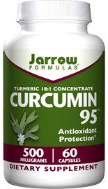 Curcumin 95 (500 mg 60 capsules) Jarrow Formulas
