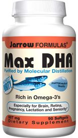 Max DHA (607 mg 90 softgels) Jarrow Formulas