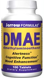 DMAE  (150 mg 100 tablets) Jarrow Formulas