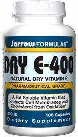 Dry E-400 (400 IU 100 capsules) Jarrow Formulas