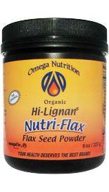 Omega Flax Fiber (227 grams) Jarrow Formulas