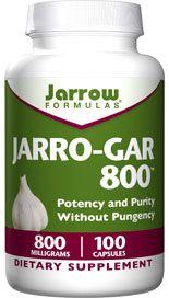 Jarro-Gar 800 (800 mg 100 capsules) Jarrow Formulas