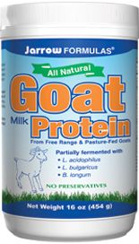 Goat Milk Protein (16 oz powder) Jarrow Formulas