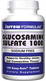 Glucosamine Sulfate (1000 mg 100 tablets) Jarrow Formulas