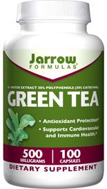 Green Tea (500 mg 100 capsules) Jarrow Formulas