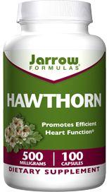 Hawthorn (500 mg 100 capsules) Jarrow Formulas