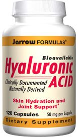 Hyaluronic Acid  (50 mg 120 capsules) Jarrow Formulas