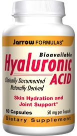 Hyaluronic Acid  (50 mg 60 capsules) Jarrow Formulas