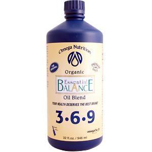 Omega Essential Balance Oil 3-6-9 (32 oz) Jarrow Formulas
