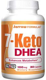 7-KETO DHEA (100 mg 30 capsules) Jarrow Formulas