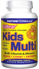 KidBear Kids Multi (120 chewable tablets) Jarrow Formulas