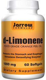 D-Limonene (1000 mg 60 softgels) Jarrow Formulas