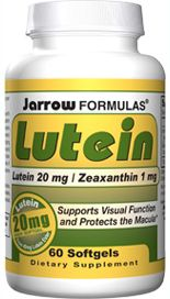 Lutein (20 mg 60 softgels) Jarrow Formulas