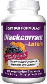 Black Currant plus  Lutein (60 vegetarian capsules) Jarrow Formulas
