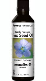 Fresh Pressed Flaxseed Oil (8 oz) Jarrow Formulas