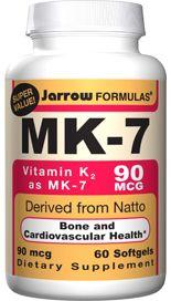 MK-7 (90 mcg 60 softgels) Jarrow Formulas