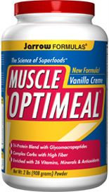 Muscle OptiMeal Vanilla (2 lbs) Jarrow Formulas