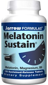 Melatonin Sustain (1 mg 120 tablets) Jarrow Formulas
