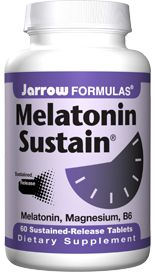 Melatonin Sustain (1 mg 60 tablets) Jarrow Formulas