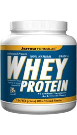 Whey Protein Natural (16 oz) Jarrow Formulas